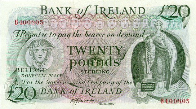 Лицевая сторона банкноты северной