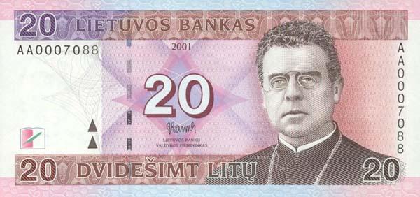 Курс евро в литве
