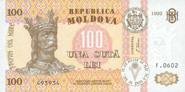 Курс валют в молдавии