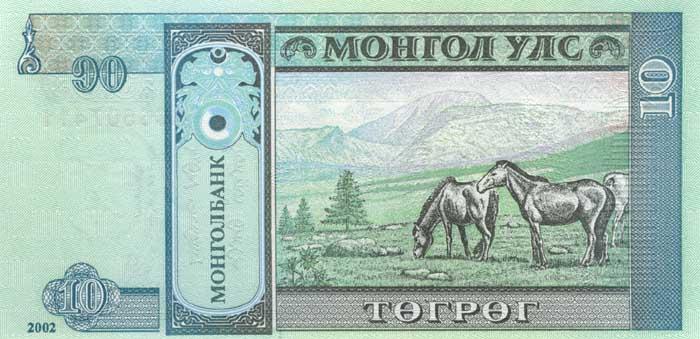 Курс монгольского тугрика к доллару