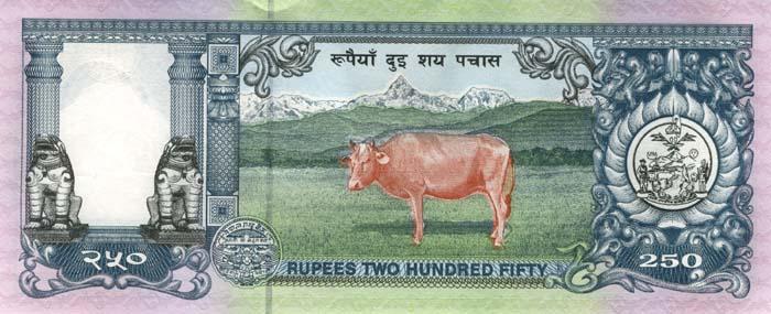 Непальская рупия доллару и евро