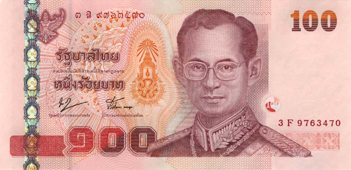 Курсы валют в банках тайланда в