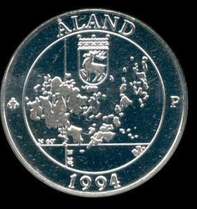 Монеты Аландских островов