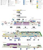 Схема быстрого прохода в аэропорте Орли.