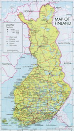 Карты Финляндии. Финляндия на карте мира — Planetolog.ru
