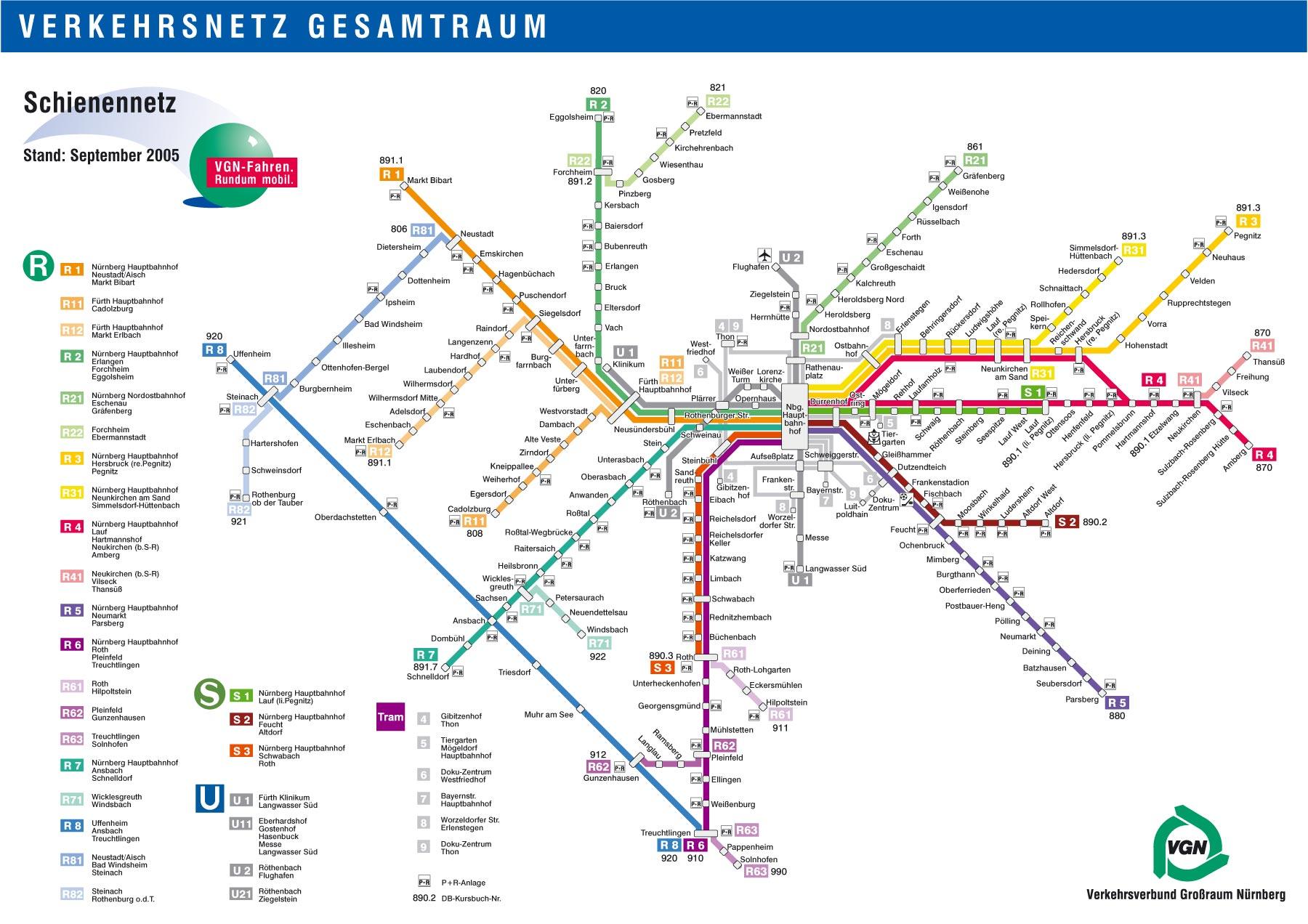 Podrobnaya Shema Metro Nyurnberga Planetolog Ru